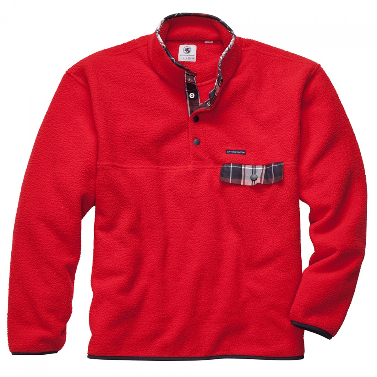 All Prep Pullover - Red